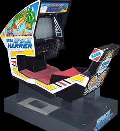 Arcade Cabinet for Space Harrier.