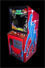 Arcade Cabinet for Space Invaders Deluxe.