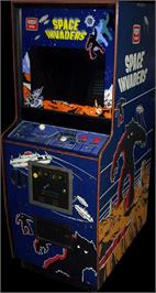 Arcade Cabinet for Space Invaders Test ROM.