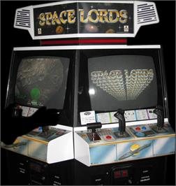 Arcade Cabinet for Space Lords.