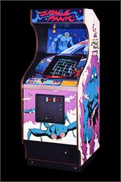 Arcade Cabinet for Space Panic.