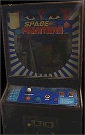 Arcade Cabinet for Space Phantoms.