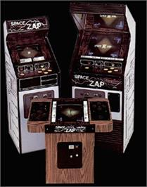 Arcade Cabinet for Space Zap.