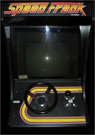 Arcade Cabinet for Speed Freak.