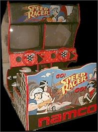 Arcade Cabinet for Speed Racer.