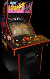 Arcade Cabinet for Spider-Man: The Videogame.