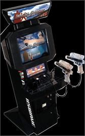 Arcade Cabinet for Sports Shooting USA.