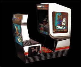 Arcade Cabinet for Spy Hunter.