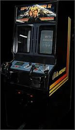 Arcade Cabinet for Spy Hunter 2.
