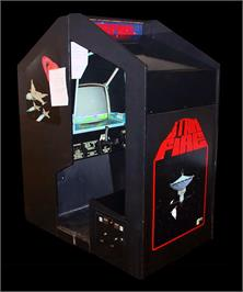 Arcade Cabinet for Star Fire.