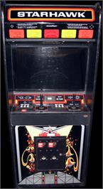 Arcade Cabinet for Star Hawk.