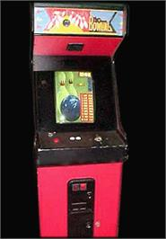 Arcade Cabinet for Strata Bowling.