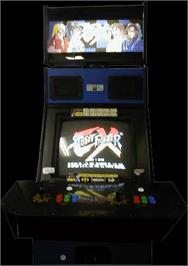 Arcade Cabinet for Street Fighter EX.