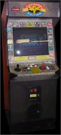 Arcade Cabinet for Street Fighter II': Champion Edition.