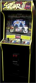 Arcade Cabinet for Street Fighter II: The World Warrior.