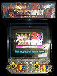 Arcade Cabinet for Street Fighter III 2nd Impact: Giant Attack.