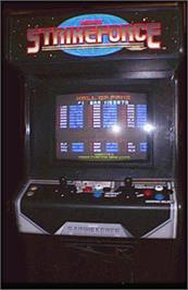 Arcade Cabinet for Strike Force.