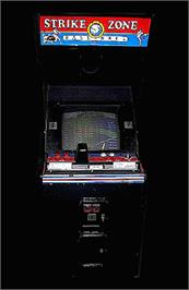 Arcade Cabinet for Strike Zone Baseball.