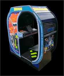 Arcade Cabinet for Subroc-3D.
