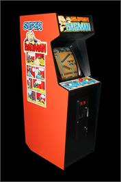 Arcade Cabinet for Super Bagman.