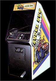 Arcade Cabinet for Super Bug.