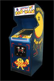 Arcade Cabinet for Super Pac-Man.