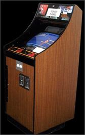 Arcade Cabinet for Super Pang.