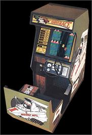 Arcade Cabinet for Super Speed Race.