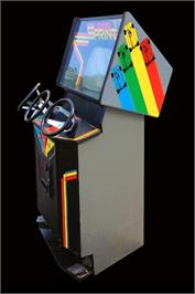 Arcade Cabinet for Super Sprint.