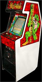 Arcade Cabinet for Tazz-Mania.
