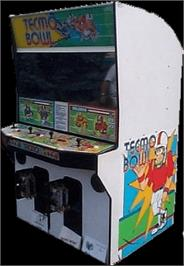 Arcade Cabinet for Tecmo Bowl.