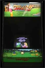 Arcade Cabinet for Tee'd Off.