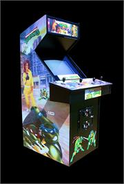 Arcade Cabinet for Teenage Mutant Hero Turtles.
