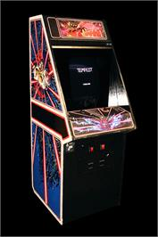 Arcade Cabinet for Tempest.