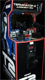 Arcade Cabinet for Terminator 2 - Judgment Day.