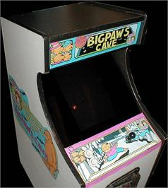 Arcade Cabinet for The Berenstain Bears in Big Paw's Cave.