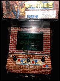 Arcade Cabinet for The Combatribes.