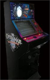 Arcade Cabinet for The Crystal Maze Team Challenge.