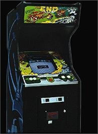 Arcade Cabinet for The End.