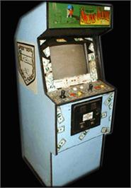 Arcade Cabinet for The Irem Skins Game.