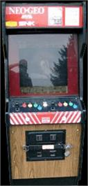 Arcade Cabinet for The Last Soldier.