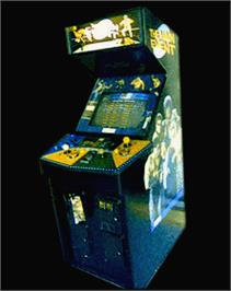 Arcade Cabinet for The Main Event.