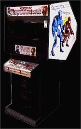 Arcade Cabinet for The Ninja Warriors.