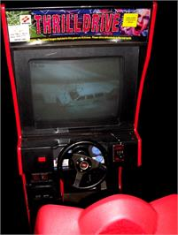 Arcade Cabinet for Thrill Drive.