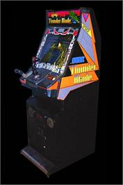 Arcade Cabinet for Thunder Blade.