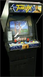 Arcade Cabinet for Thunder Fox.
