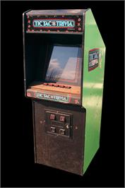 Arcade Cabinet for Tic Tac Trivia.