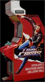 Arcade Cabinet for Time Crisis.
