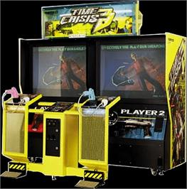 Arcade Cabinet for Time Crisis 3.