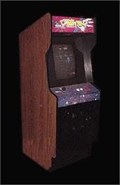 Arcade Cabinet for Time Pilot '84.